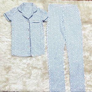 Roller Rabbit Heart Pajama Set